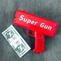 把妹神器! 派對噴錢槍 鈔票槍 SuperGun 可噴台幣 千元鈔 桌遊