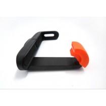 手機自拍桿夾 大號L塑膠手機夾帶軟膠套 Z07-7自拍桿手機夾子