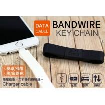 日系DATA CABLEBandwire回環式充電數據線蘋果 安卓數據線 蘋果短線 安卓短線
