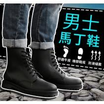 【歐美街頭時尚雨鞋】男鞋 防滑情侶款馬丁靴 水鞋 男士雨鞋 短筒防水雨靴 馬丁鞋 防水雨鞋【AL064】