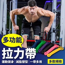 【專業推薦!健身重訓】多功能拉力帶 專業訓練拉力帶 重訓拉力帶 健身拉力帶 國際級阻力帶 拉力繩 阻力繩【AH043】