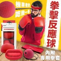 【上班壓力大!!】拳擊反應球 拳擊發洩球 拳擊球 反應球  反彈球 速度球 拳擊健身爆汗燃脂【AH024】